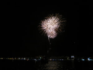 Fireworks St Joan finale